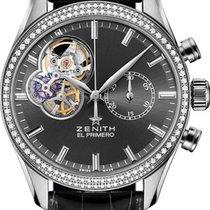 Zenith El Primero Chronomaster Lady Steel 38mm Grey