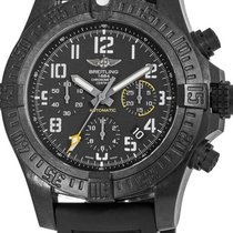 Breitling Titanium Automatic Black 45mm new Avenger Hurricane
