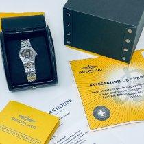 Breitling Galactic 30 Stahl 30mm Champagnerfarben Keine Ziffern