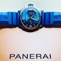 Panerai Luminor 1950 8 Days GMT Titanium 47mm Blue Arabic numerals United States of America, Florida, West Palm Beach