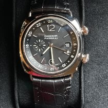 Panerai Radiomir GMT White gold 42mm Black
