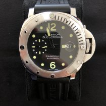 Panerai Luminor Submersible Steel 44mm Black Arabic numerals Australia, Brisbane, Queensland