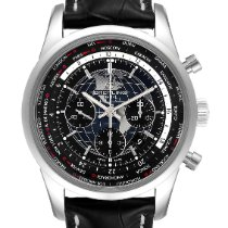 Breitling Transocean Chronograph Unitime 46mm Black United States of America, Georgia, Atlanta