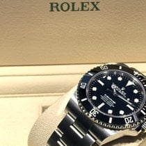 Rolex Submariner (No Date) Сталь 41mm Черный Без цифр
