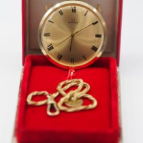 Omega Watch pre-owned 1966 Yellow gold 45mm Manual winding Watch with original box