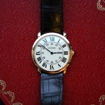 Cartier Ronde Louis Cartier подержанные 36mm Cеребро Кожа