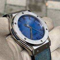 Hublot Classic Fusion 45, 42, 38, 33 mm Titanium 45mm Blue No numerals United Kingdom, HAYES