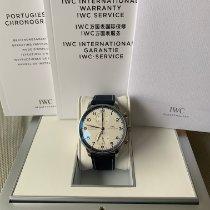 IWC Portugieser Chronograph neu 2020 Automatik Uhr mit Original-Box und Original-Papieren IW371492