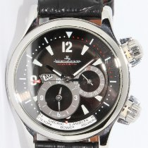 Jaeger-LeCoultre Master Compressor Geographic Steel 42mm Black Arabic numerals