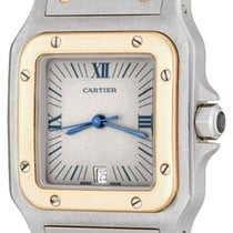 Cartier Santos Dumont Steel 29mm Grey Roman numerals United States of America, Texas, Dallas