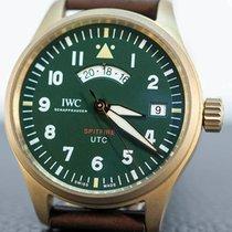 IWC Pilot Spitfire UTC Бронза Зеленый