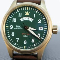 IWC Pilot Spitfire UTC Bronze Verde