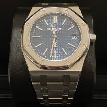 Audemars Piguet Royal Oak Jumbo Steel 39mm Blue No numerals United Kingdom, Chaldon