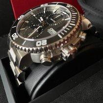 Oris Aquis Chronograph Steel 46mm Black No numerals