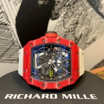 Richard Mille RM 035 RM35-02 Muy bueno Carbono 49.94mm Automático