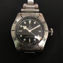 Tudor Black Bay Steel pre-owned 41mm Black Date Steel