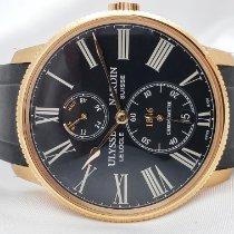 Ulysse Nardin Rose gold Automatic Black Roman numerals 42mm new