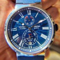 Ulysse Nardin Marine Chronometer 43mm Steel 43mm Blue Roman numerals United States of America, Illinois