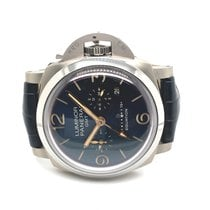 Panerai Luminor 1950 8 Days GMT Titanium 47mm Blue Arabic numerals United States of America, California, La Jolla