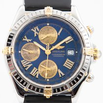 Breitling Crosswind Racing Gold/Steel 43mm Blue