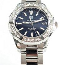 TAG Heuer Aquaracer Lady Steel 35mm Blue No numerals