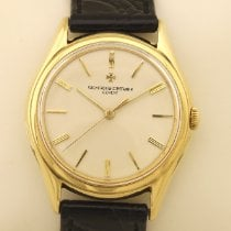 Vacheron Constantin Yellow gold Automatic Silver 34,5mm pre-owned Patrimony
