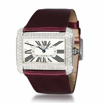 Cartier Tank Divan White gold 38mm Silver United States of America, New York, New York