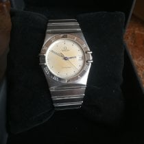 Omega Constellation Day-Date pre-owned 33mm Silver Date Steel