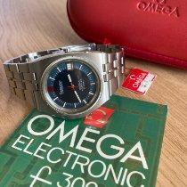 Omega Steel Quartz 198.0004 new