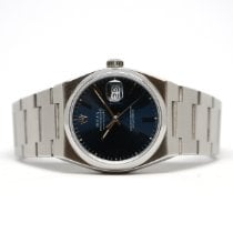 Rolex Datejust Oysterquartz Steel 36mm Blue No numerals