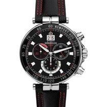 Michel Herbelin Newport Yacht Club new 2021 Quartz Chronograph Watch with original box and original papers 36655/AN44