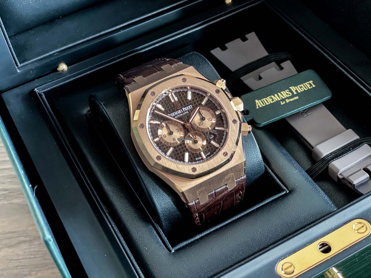 Audemars Piguet Royal Oak Chronograph 26331OR.OO.D821CR.01 2019 tweedehands