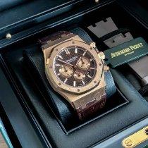 Audemars Piguet Royal Oak Chronograph Roségoud 41mm Bruin Geen cijfers Nederland, Maastricht