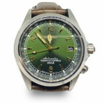 Seiko Spirit Steel 38mm Green Arabic numerals United States of America, Alabama, WASHINGTON