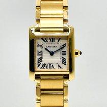 Cartier Tank Française Yellow gold