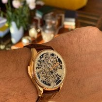 IWC Portugieser Minute Repeater Roségold 43mm Transparent Keine Ziffern