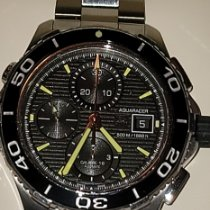 TAG Heuer Aquaracer 500M new Automatic Chronograph Watch with original box and original papers CAK2111.BA0833