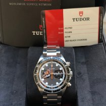 Tudor Heritage Chrono pre-owned 42mm Black Chronograph Date Steel