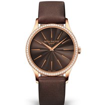 Patek Philippe Calatrava Rose gold 33mm Brown No numerals United States of America, New York, New York