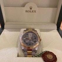 Rolex Datejust II Gold/Steel 41mm Grey Roman numerals Australia, melbourne