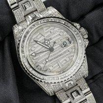 Rolex GMT-Master II Steel 40mm Silver No numerals