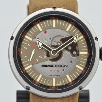 Momo Design Steel 45mm Manual winding MD1010BS-32 pre-owned United States of America, California, Stockton