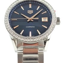 TAG Heuer Carrera Lady Steel 36mm Blue No numerals