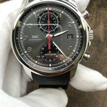 IWC Portuguese Yacht Club Chronograph Steel 43.5mm Arabic numerals United States of America, New York, New York