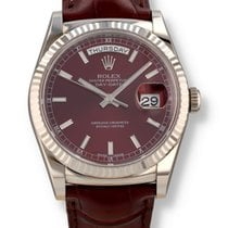 Rolex Day-Date 36 White gold 36mm Bordeaux United States of America, New Hampshire, Nashua