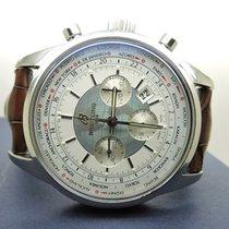 Breitling Transocean Chronograph Unitime Acero 46mm Blanco Sin cifras España, Arroyomolinos