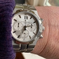 Vacheron Constantin Overseas Chronograph Steel 40mm Silver United Kingdom, London