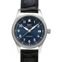 IWC Pilot's Watch Automatic 36 Stahl 36mm Blau Deutschland, Bamberg