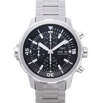 IWC IW376804 Steel 2021 Aquatimer Chronograph 44mm new