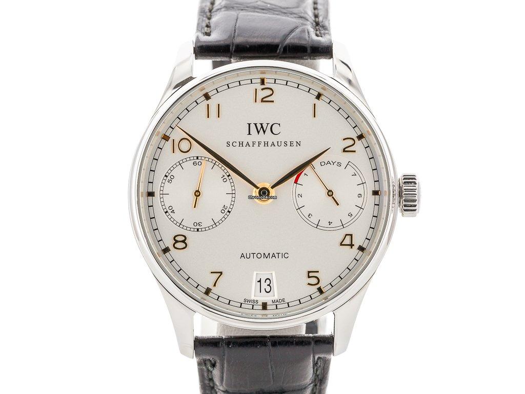 IWC Portuguese Automatic IW500114 2014 подержанные